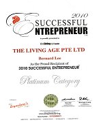 Sucessful Enterpreneur 2010
